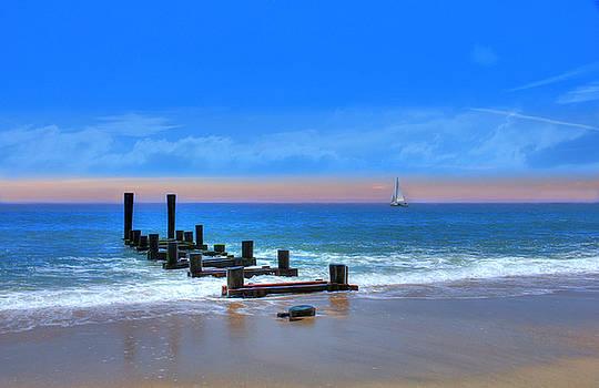 Broken Pier by Sharon Batdorf