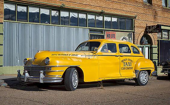 Mary Lee Dereske - Broken Spoke Chrysler Taxi in Lowell Arizona