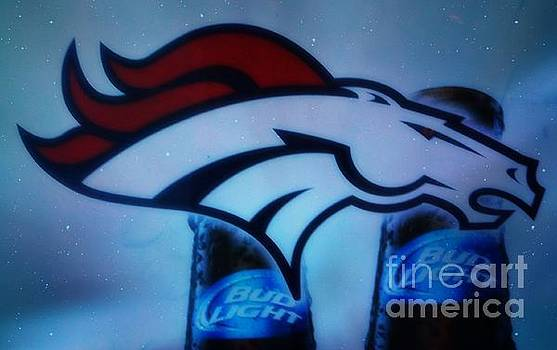Broncos and Bud Light by Kelly Awad