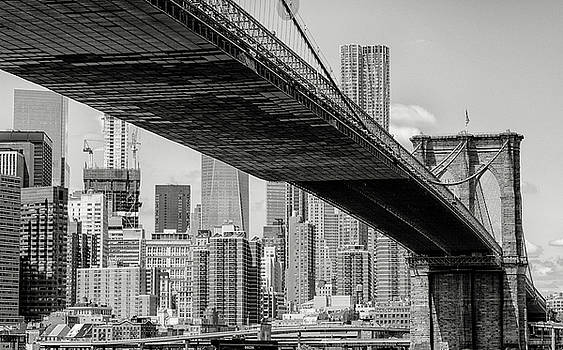 Brooklyn Bridge 2 by John Hoey