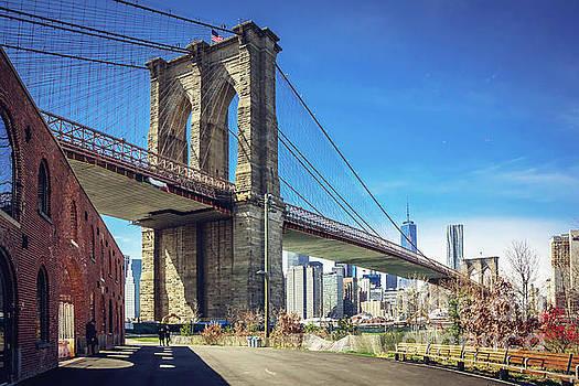 Brooklyn Bridge  by Joan McCool