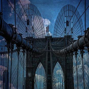 Brooklyn Bridge Webs by Chris Lord