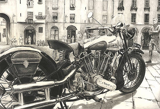 Brough Superior SS 100 by Norman Bean