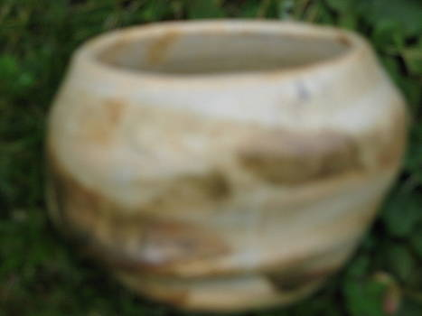 Brown Altered-form vessel  by Julia Van Dine
