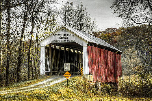 Jack R Perry - Bowsher Ford covered bridge