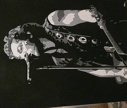 Bruce Springsteen by Mandy Beatson