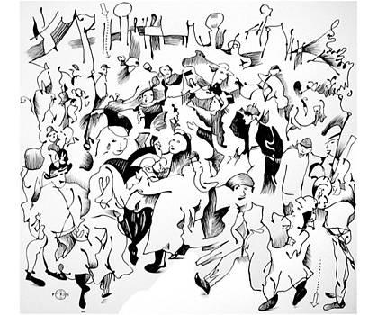 Bruegel Wedding by Gary Peterson