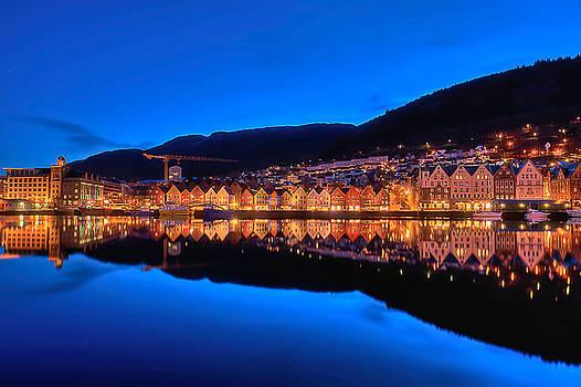 Bryggen Bergen by Stephanie Benjamin