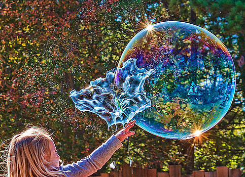 Bubble Pop by Black Brook Photography