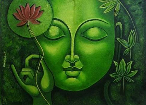 Buddha by Bharati Subramanian