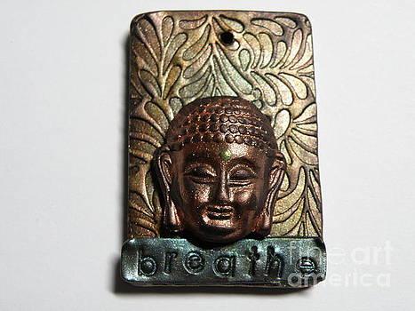 Buddha Breathe Pendant 1 by Megan Brandl