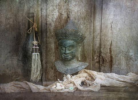 Buddha Bust by Nichon Thorstrom