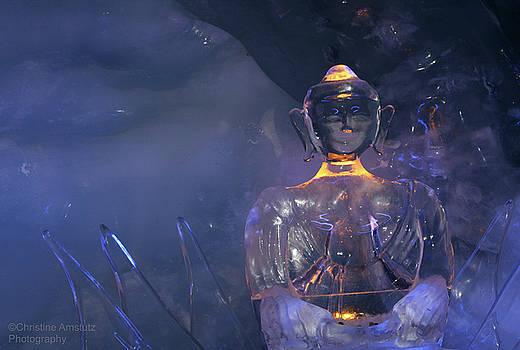 Buddha in Ice by Christine Amstutz