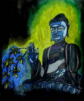 Buddha by Sarojit Mazumdar