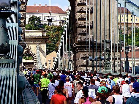 Budpest Marathon by Ira Shander
