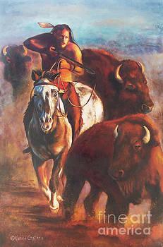 Buffalo Hunt by Karen Kennedy Chatham