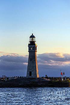 Buffalo Lighthouse by John Greim