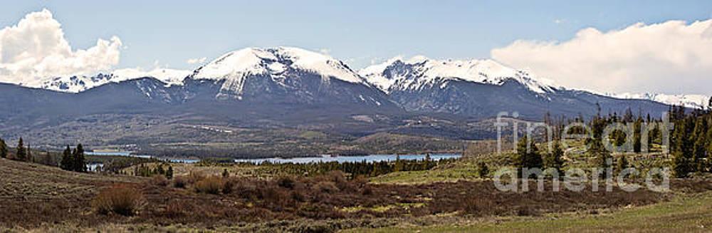 Scott Pellegrin - Buffalo Mountain and Red Peak Pano