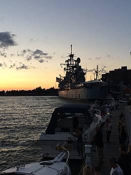 Buffalo Navy Ship by Mark Weber