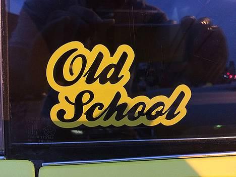 Buffalo Old School by Mark Weber