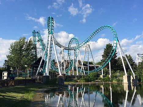 Buffalo Roller Coaster by Mark Weber