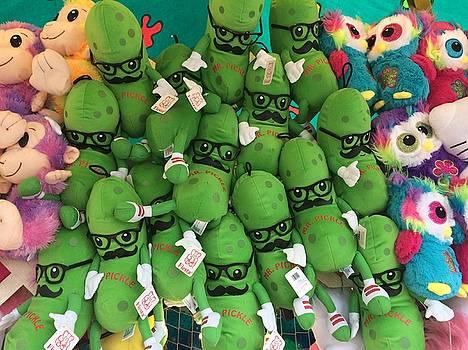 Buffalo Stuffed Pickles by Mark Weber