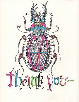 Bug Thanks by Christy Woodland