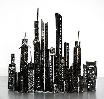 Buildings 3 by Don Thibodeaux