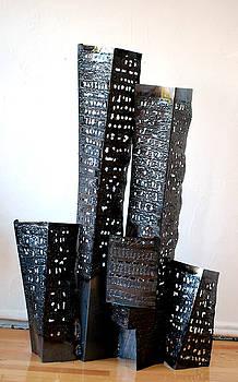 Buildings 6 by Don Thibodeaux