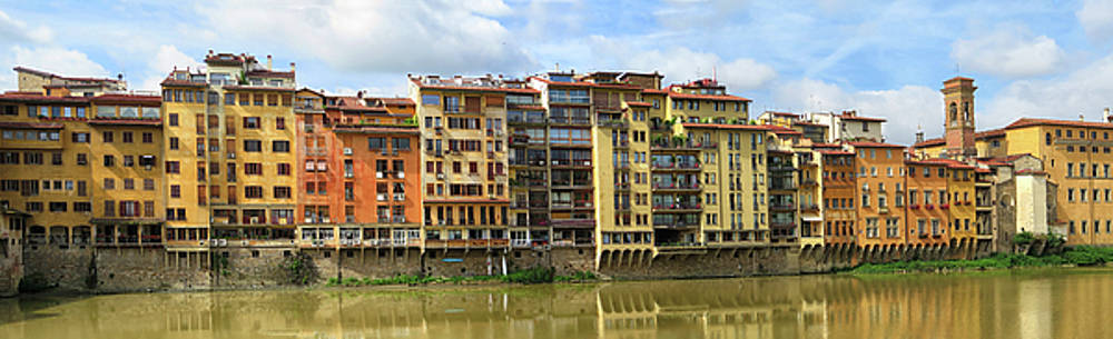 Buildings in Florence by Dave Mills