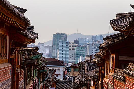 Bukchon Hanok Village Contrast by James BO Insogna