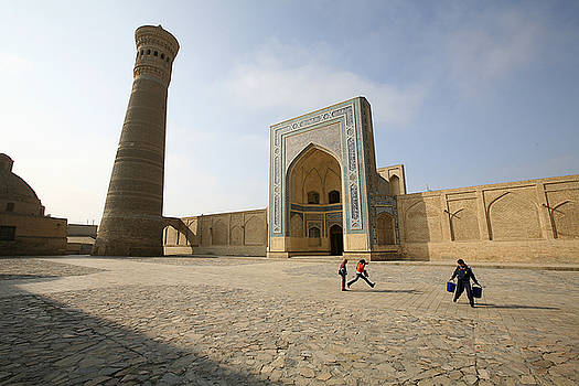 Bukhara tower by Marcus Best