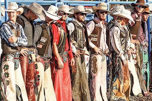 Bull Bash Cowboys by Steven Bateson