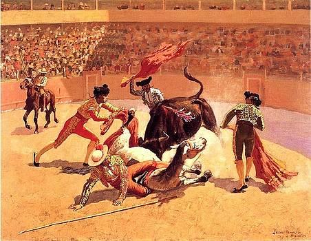 Roberto Prusso - Bull Fight In Mexico