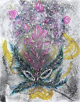 Suzanne  Marie Leclair - Bull Mask and Bouquet
