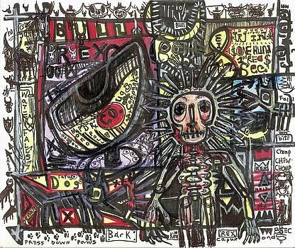 Bull Rider by Robert Wolverton Jr