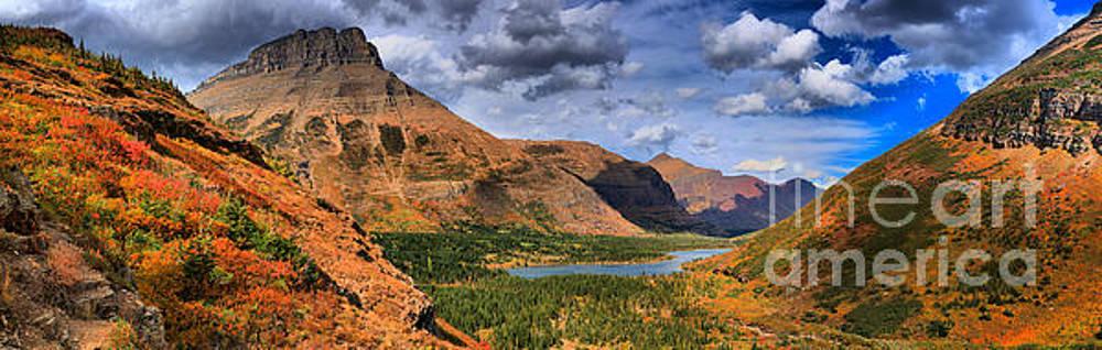 Adam Jewell - Bullhead Lake Overlook Fall Panorama