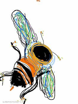 BumbleBee The Mighty Pollinator by Kathy Barney
