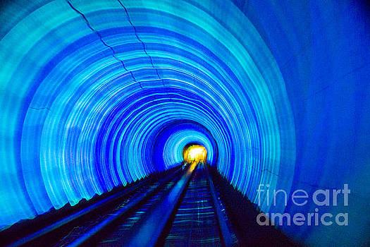 Bund Tunnel Lights by Angela DeFrias