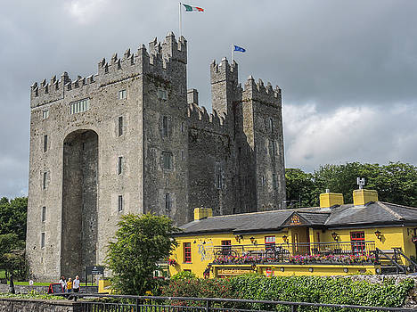 Bunratty Castle and Durty Nelly's Co. Clare Ireland by Deborah Squires