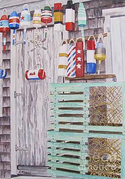 Rockport Buoys by Carol Flagg