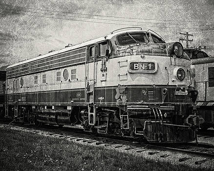Burlington Northern Train by Emily Kay