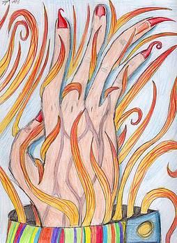 Burning Skin by Bear Welch