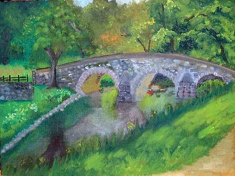 burnside bridge at Antietam Md.  by Rebecca Jackson