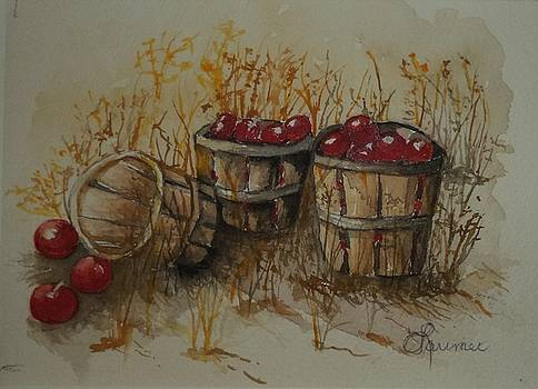 Bushels of Apples by Constance Larimer