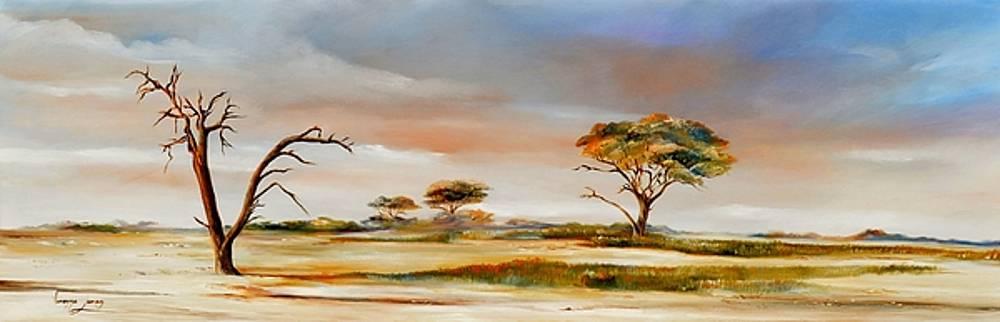 Bushveld scene by Vanessa Lomas