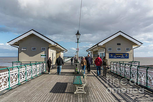 Busy On The Pier 2 by Steve Purnell