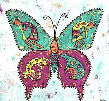Butterflies Are Free by Susie WEBER