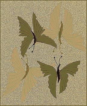 Butterflies in Love by Emna Bonano