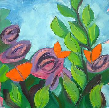 Butterflies Sunning 3 by Pam Van Londen